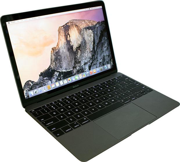 Apple MacBook Open