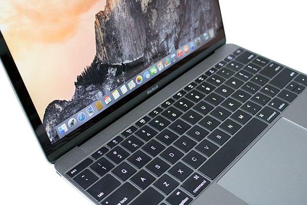 Apple MacBook Open Angled
