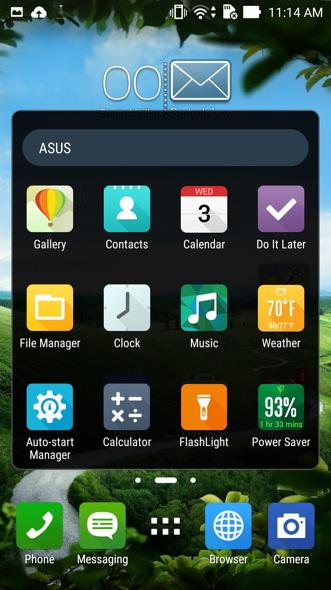 ZenFone 2 ASUS Apps