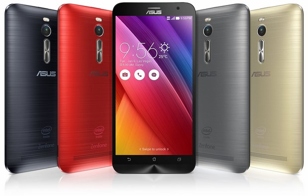 ASUS ZenFone 2 In Various Colors