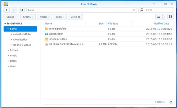 synology files tation