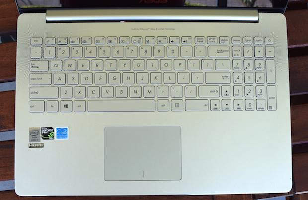 ux501 keyboardfront