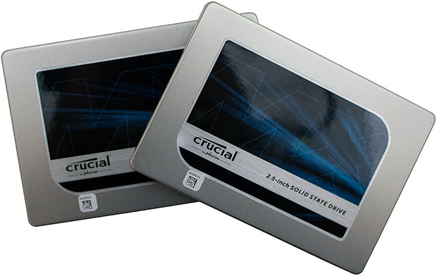 Crucial MX200 SSDs