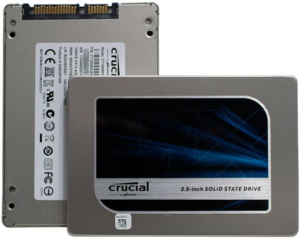 Crucial MX200 SSDs