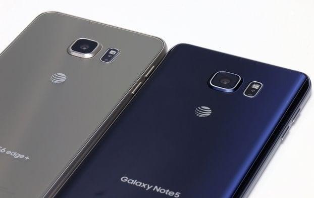 Galaxy Note 5 and Galaxy S6 Edge cameras