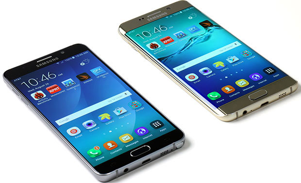 Galaxy Note 5 and Galaxy S6 Edge