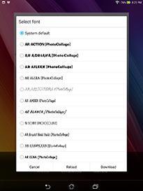 ASUS ZenPad S 8.0 Android Screenshot