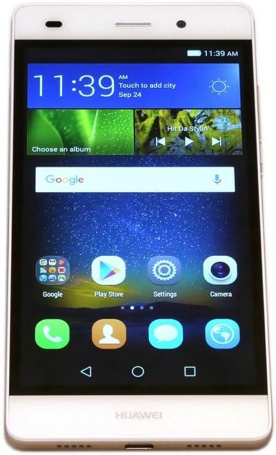 Huawei P8 lite front1