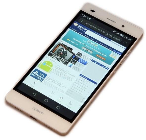 Huawei P8 lite web