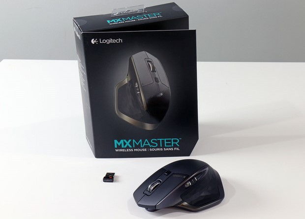 Logictech MX Master Mouse And Box