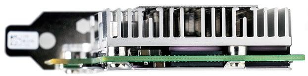 intel p3608 ssd side
