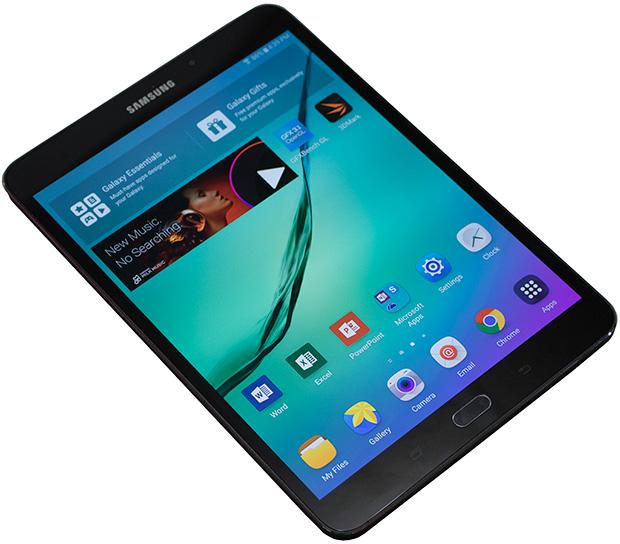 Samsung Galaxy Tab S2 Angled