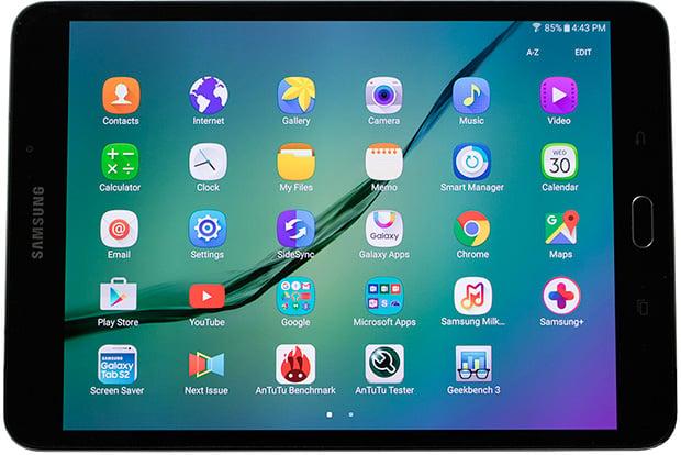 Samsung Galaxy Tab S2 Horizontal