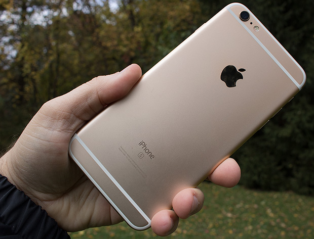 Apple iPhone 6s Plus Gold Back