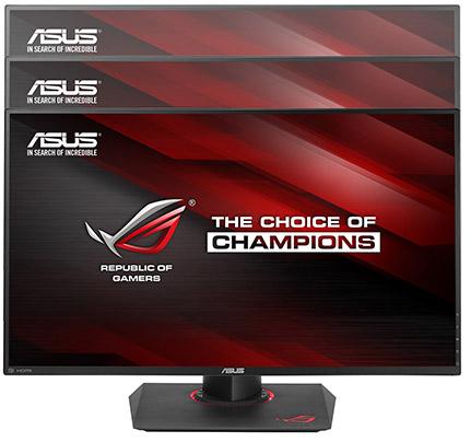 asus PG279Q height adjustment