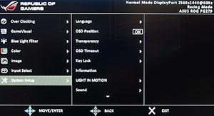 asus menu 2