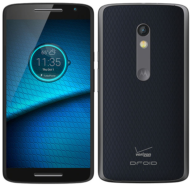 droid maxx2 front back