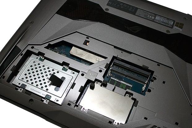 ASUS G752VT Internal Components