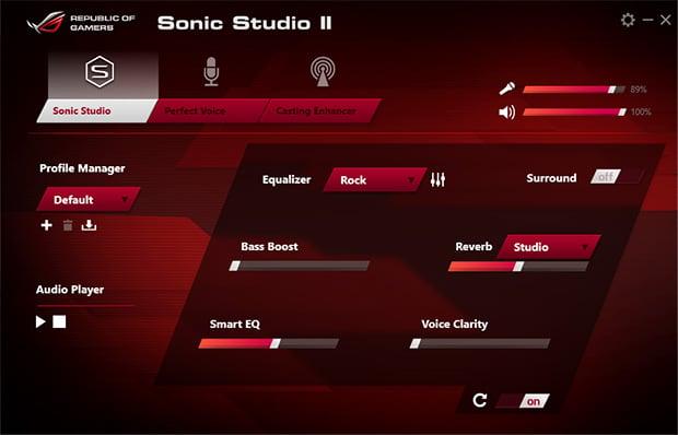 ASUS G752VT Sonic Studio II