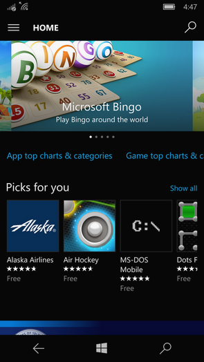 windows phone store 1