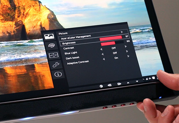 Acer Predator OSD