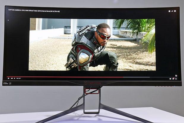 Acer Predator X34 Cap America Civil