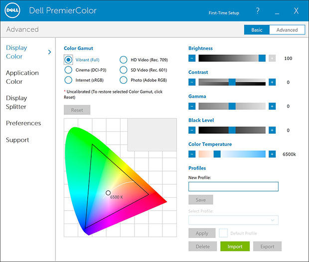 Dell XPS15 Premier Color