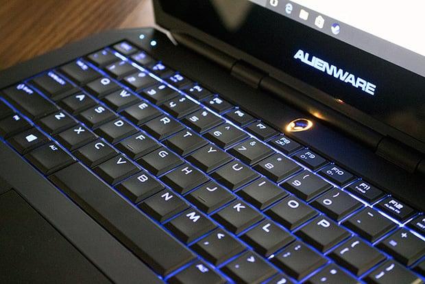 Alienware 13 R2 Keyboard Backlight