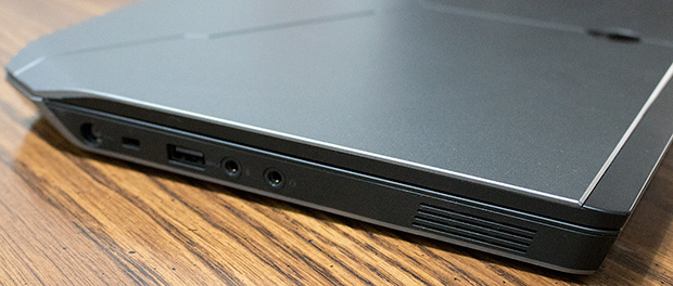Alienware 13 R2 Ports Left Side