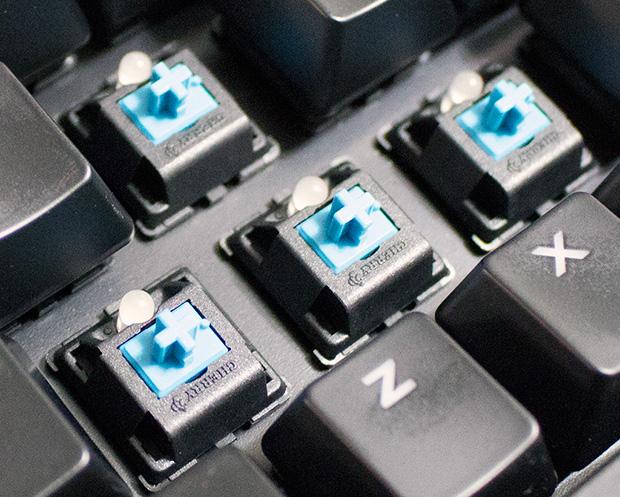ASUS Strix Tactic Pro Cherry MX Blue