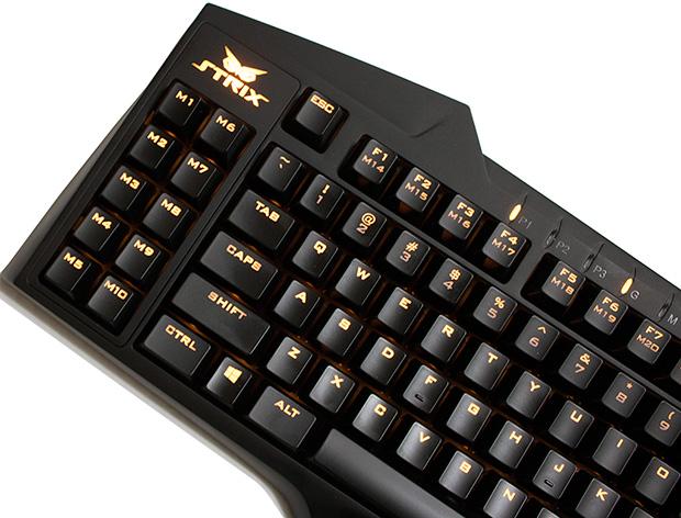 ASUS Strix Tactic Pro Macro Keys