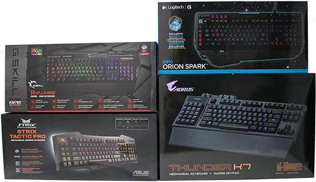 Mechanical Gaming Keyboard Boxes