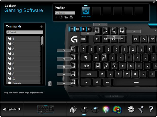 Logitech G910 Orion Spark Software