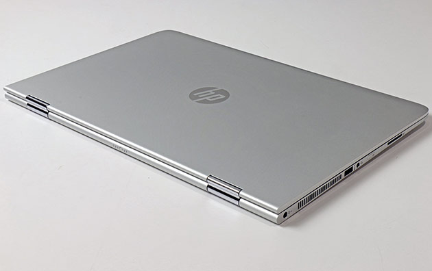 HP Spectre X360 Closed Back