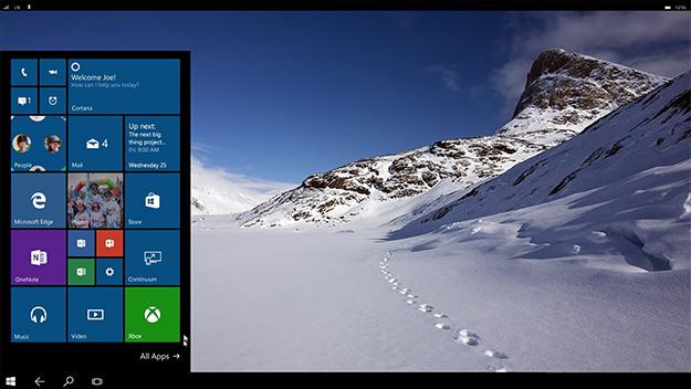 continuum desktop