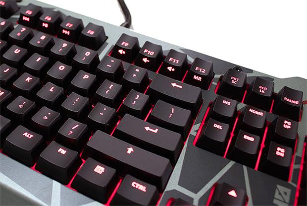 Division Zero X40 Pro Media Keys