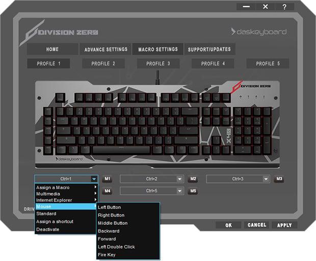 Division Zero X40 Pro Software