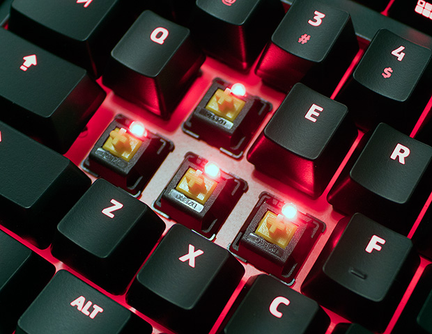 Division Zero X40 Pro Alpha-Zulu Key Tactile Key Switches