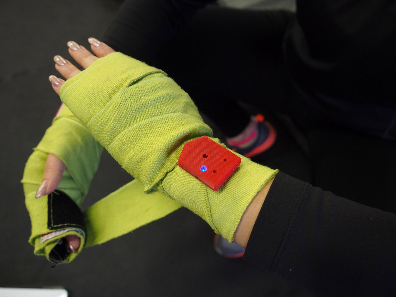 Hykso Boxing Sensors Review: Wearable Technology And Fitness Collide