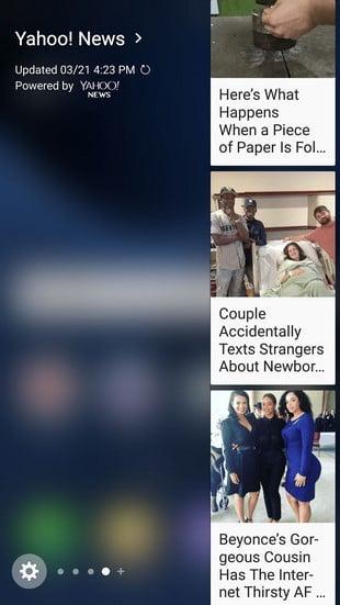 Galaxy S7 Edge Yahoo News
