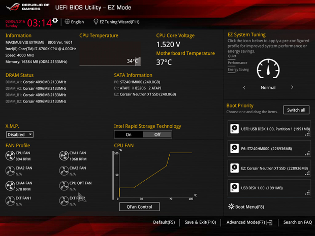 z170 ROG Maximux VII Extreme BIOS2