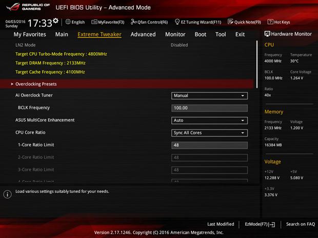 z170 ROG Maximux VII Extreme BIOS3