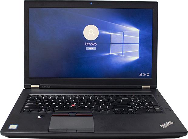 Lenovo ThinkPad P70 Open
