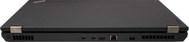 Lenovo ThinkPad P70 Ports Rear
