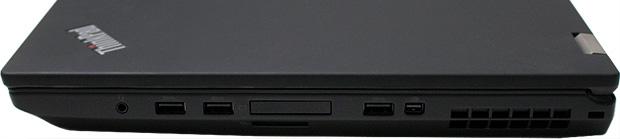 Lenovo ThinkPad P70 Ports Right Side