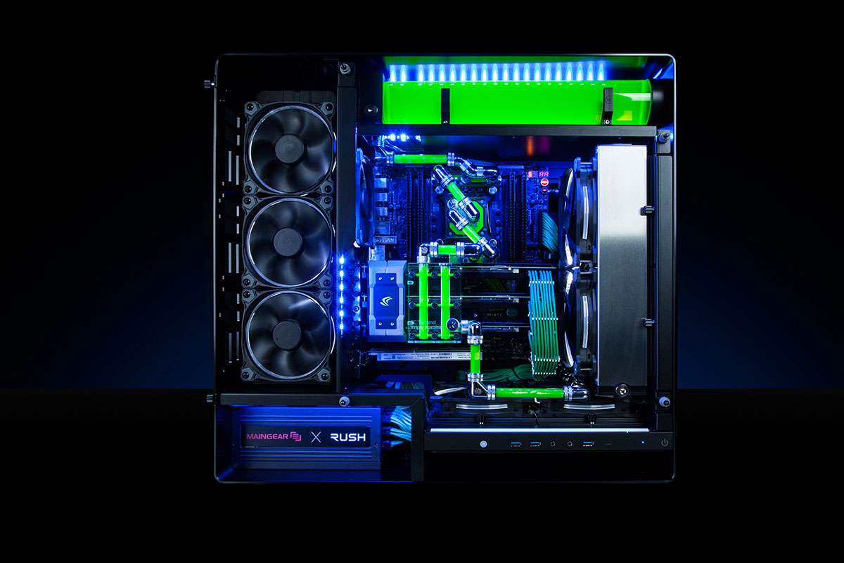 Maingear RUSH SuperStock X99 Review: PC Gaming Like A Boss