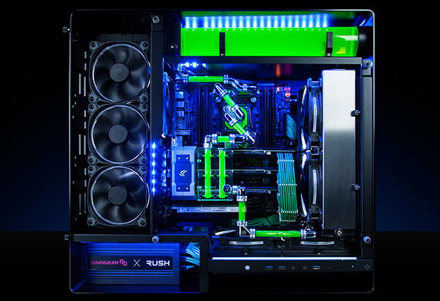 maingear rushgreen