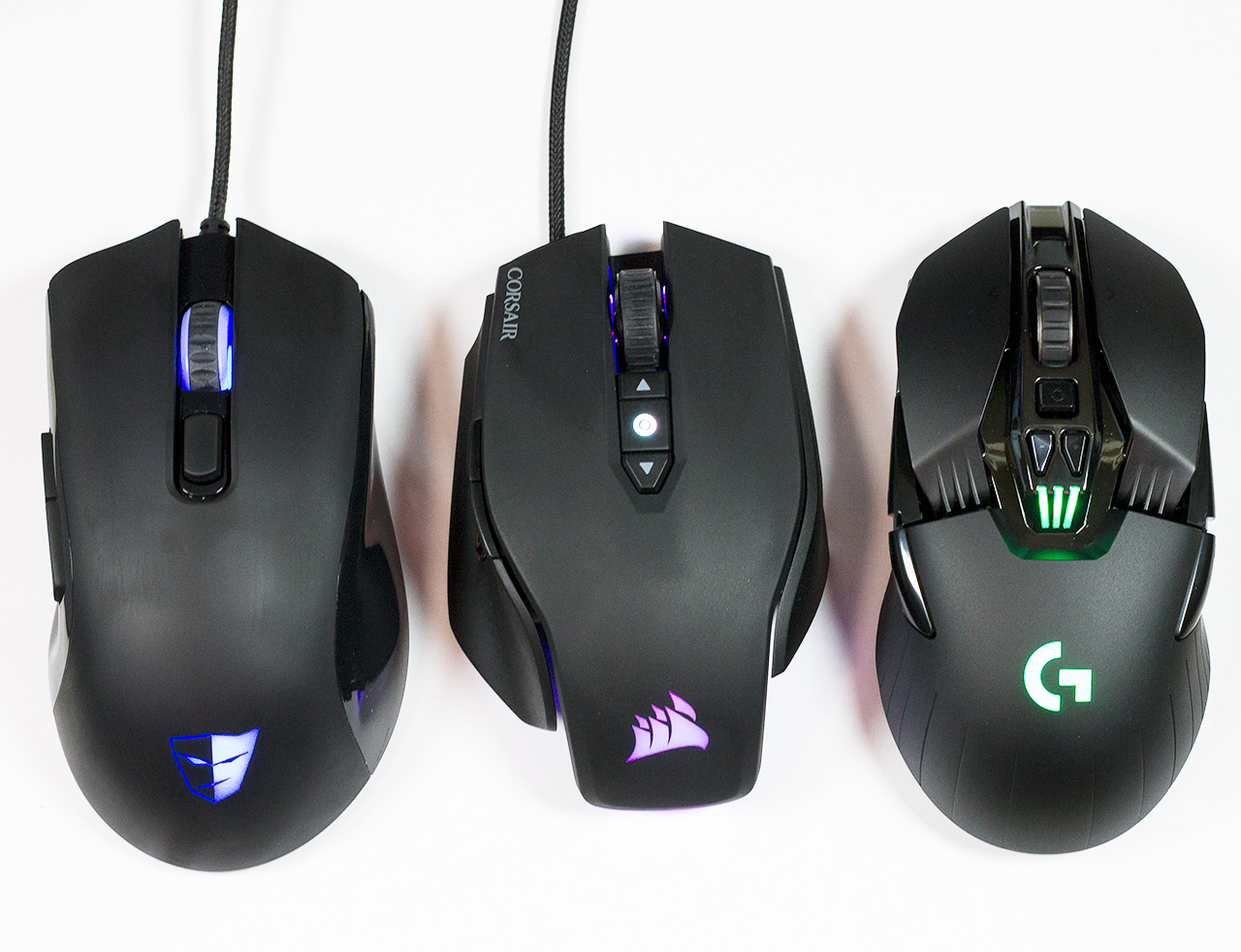 Precision Gaming Mouse Round-Up: Tesoro, Corsair, Logitech