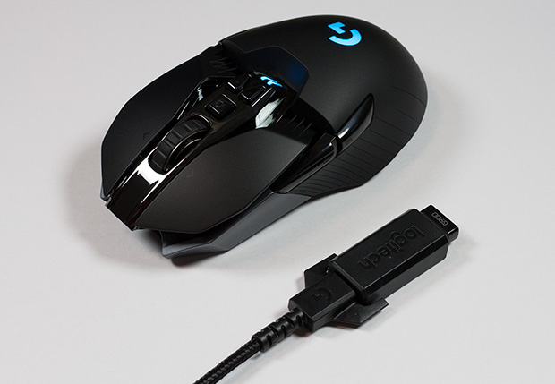 logitech g900 three quarters front with adapter