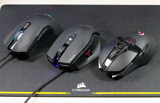 tesoro corsair logitech on gaming mat